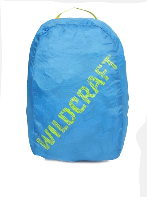 Wildcraft Unisex Blue Pac n Go Printed Backpack
