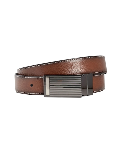 next Men Tan Reversible Belt