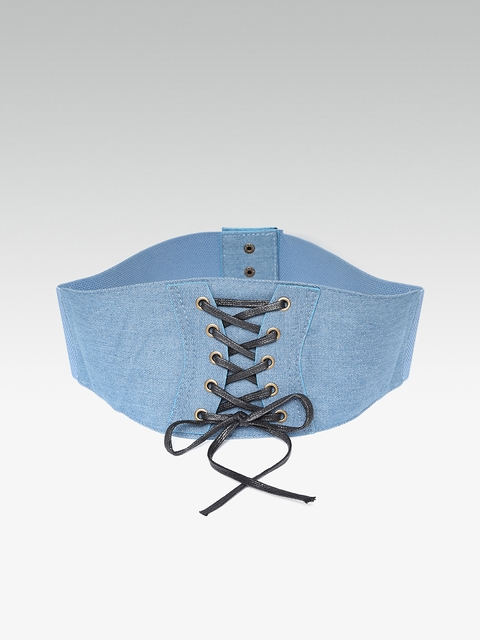 20Dresses Women Blue Denim Corset Belt