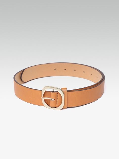 20Dresses Women Tan Brown Solid Belt
