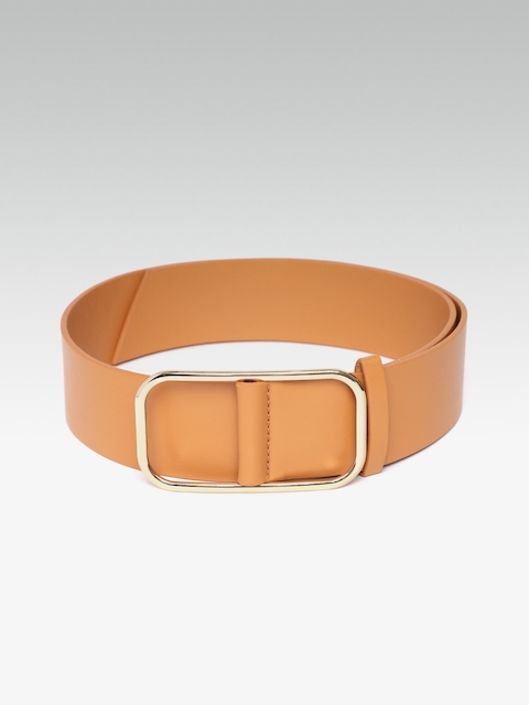 20Dresses Women Tan Brown Solid Belt