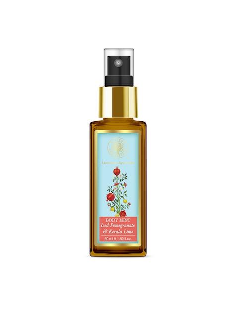 Forest Essentials Unisex Iced Pomegranate & Fresh Kerala Lime Body Mist 50 ml