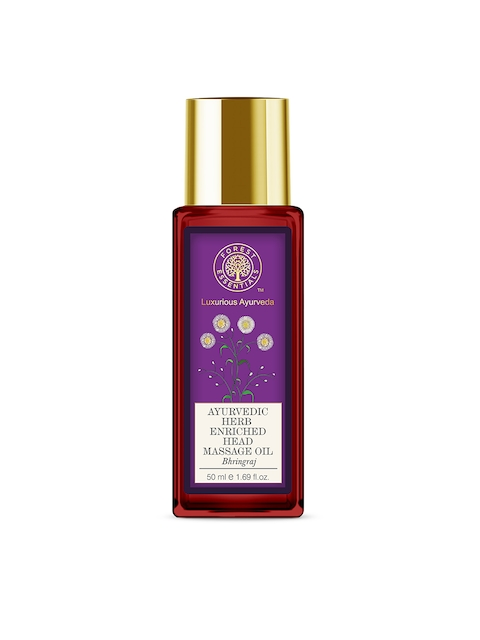 Forest Essentials Unisex Bhring Raj Ayurvedic Head Massage Oil 50 ml