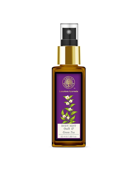 Forest Essentials Unisex Oudh & Green Tea Body Mist 50 ml