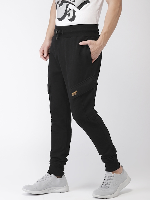Superdry Men Black ROOKIE CARGO POCKET Solid Joggers