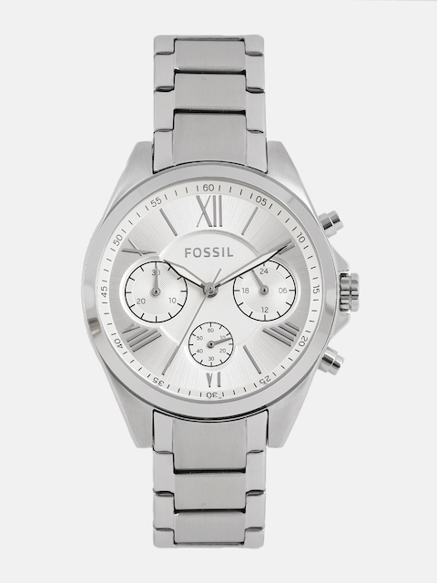 Fossil Women Silver-Toned Analogue Watch BQ3035_OR
