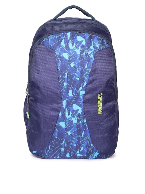 AMERICAN TOURISTER Unisex Blue Solid Backpack