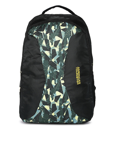 AMERICAN TOURISTER Unisex Black Alto Sch Graphic Backpack