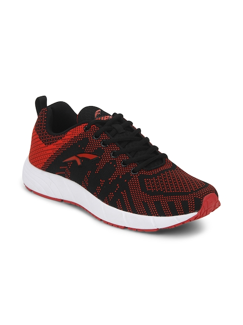FURO by Red Chief Men Red Walking Shoes