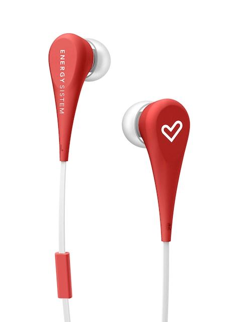 Energy Sistem Unisex Red ENERGY STYLE 1+ In-Ear Headphones