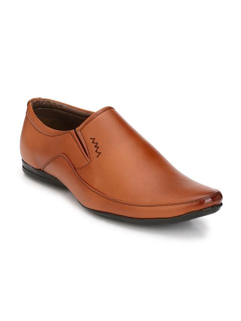 John Karsun Men Tan Brown Formal Shoes