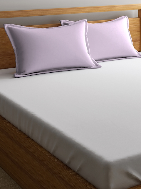 Portico New York Pink Solid Pillow Covers