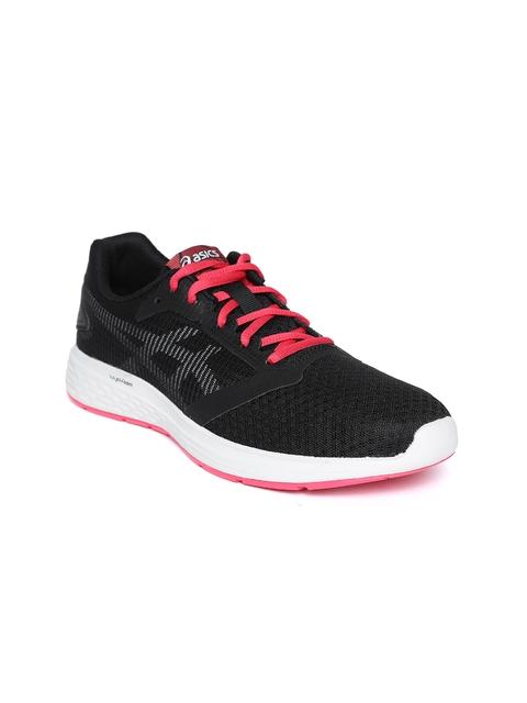 ASICS Women Black PATRIOT 10 Running Shoes