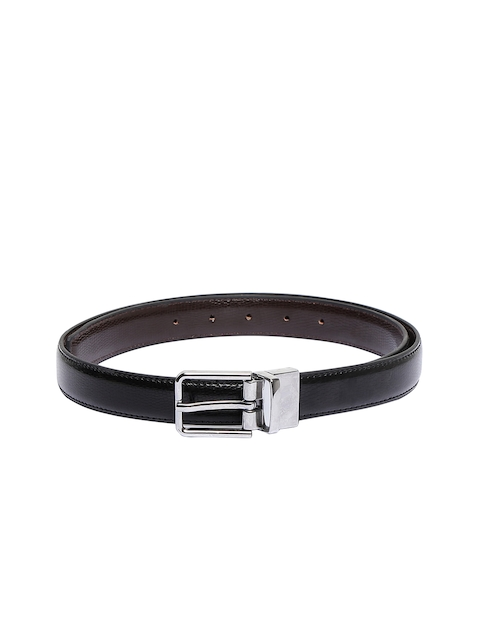 CHISEL Women Black & Brown Solid Reversible Belt