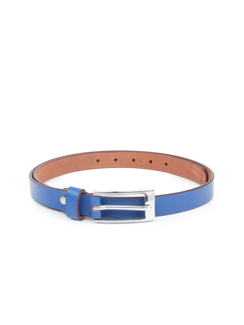 CHISEL Women Blue Leather Solid Belt