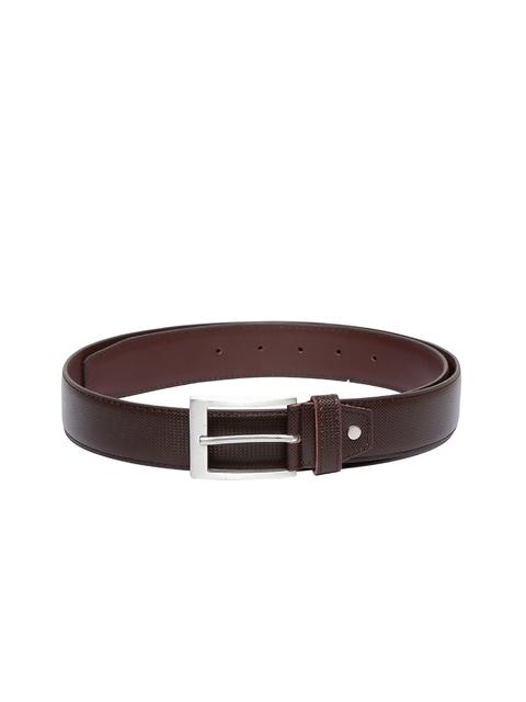 CHISEL Men Brown Solid Belt