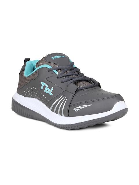 Columbus Men Grey Running Shoes