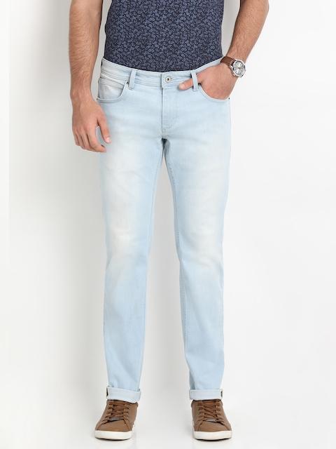 Indian Terrain Men Blue Slim Fit Low