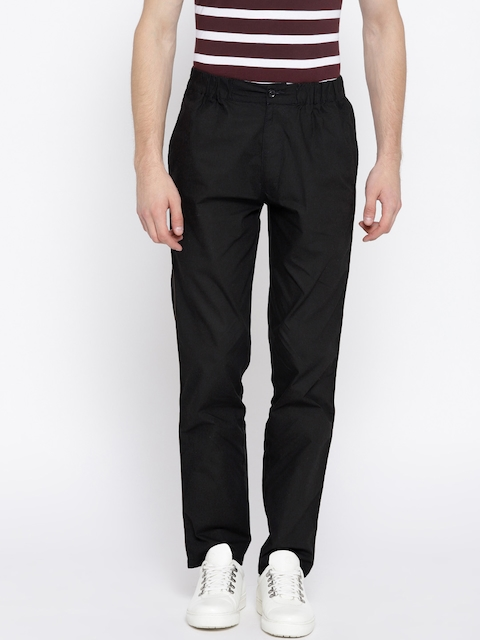 Monte Carlo Black Solid Track Pants