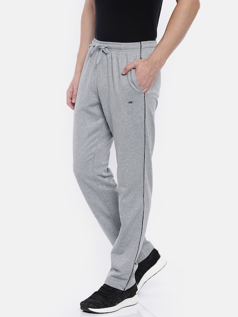 Monte Carlo Men Grey Melange Track Pants
