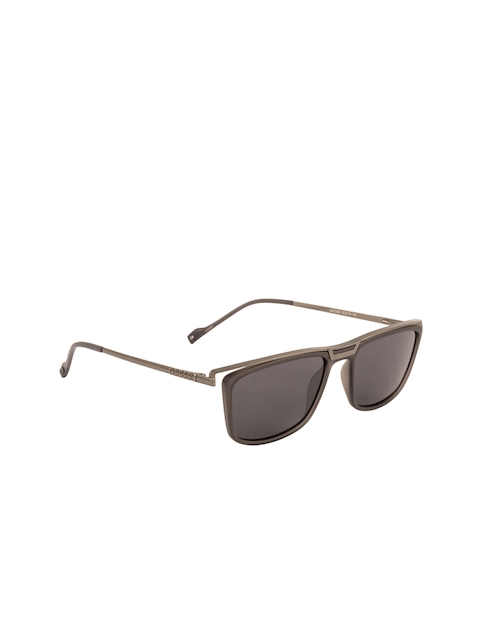 Voyage Unisex Rectangle Sunglasses NST059MG2398