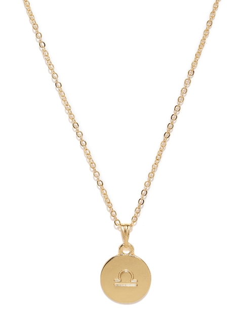 Ayesha Gold-Toned Metal Chain with Pendant