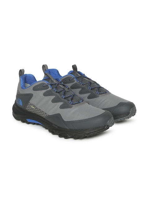 The North Face Men Grey Solid Ultra Fastpack III GTX Waterproof Hiking Shoes