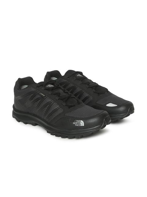 The North Face Men Black Solid Waterproof LITEWAVE FASTPACK GTX Hiking Shoes