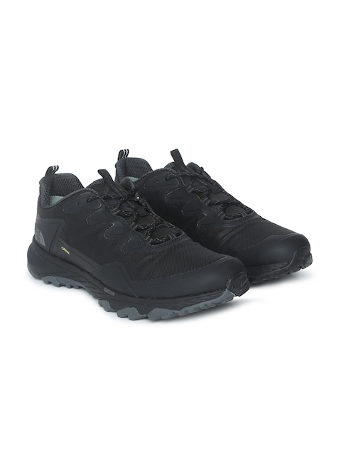 The North Face Men Black Solid Ultra Fastpack III GTX Waterproof Hiking Shoes