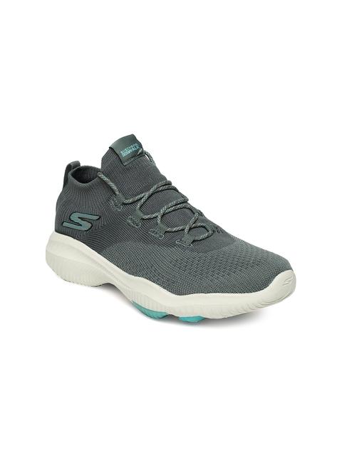 Skechers Women Grey GO WALK REVOLUT ULTR-TURB Walking Shoes