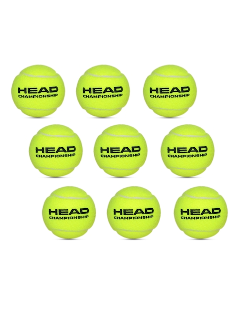 Head Unisex Pack of 3 Yellow Championship Tennis Balls