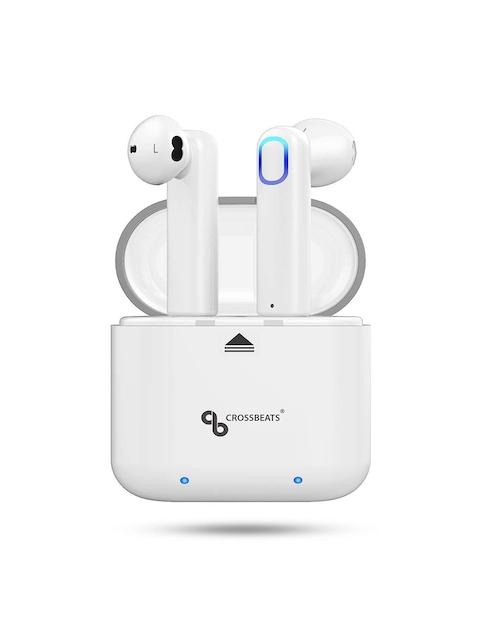 CrossBeats Unisex White Aero True Wireless Earphones with Mic X000UU92IT