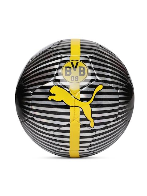 Puma Unisex Black & Yellow BVB One Chrome Football