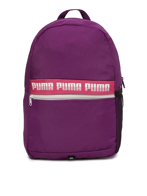 Puma Unisex Purple Solid Phase II Backpack