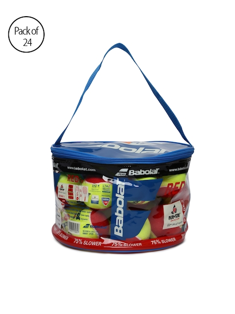 Babolat Unisex Red Felt Pack of 24 Tennis Balls