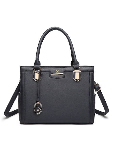 Diana Korr Women Black Solid Handheld Bag