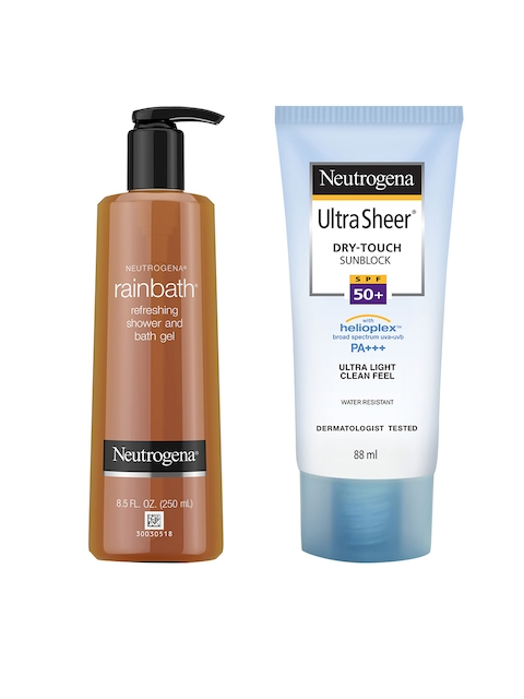 Neutrogena Unisex Pack Of Rainbath & Sunscreen Combo