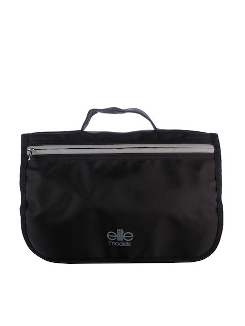 elite models Women Black Travel Toiletry Pouch Bag 31e48e5a51021