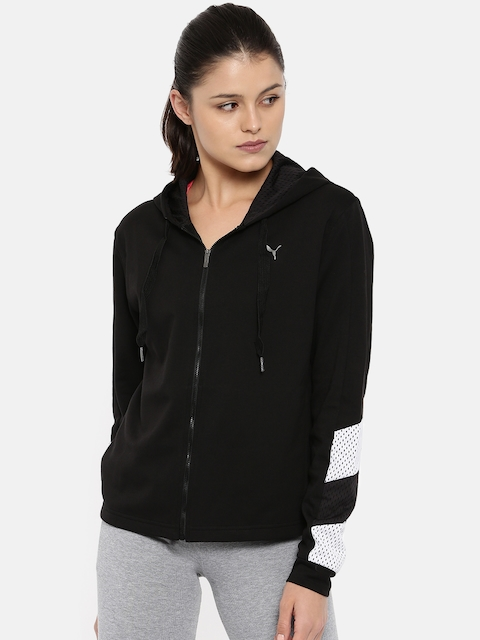 Puma Women Black A.C.E. Sweatshirt