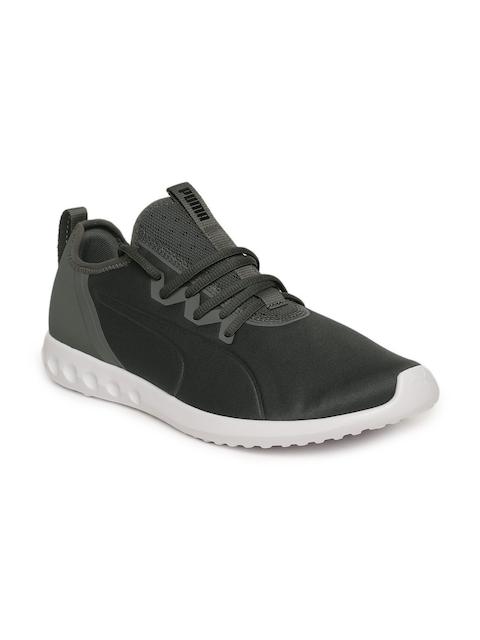 Puma Men Charcoal Grey Mesh Carson 2 X Walking Shoes