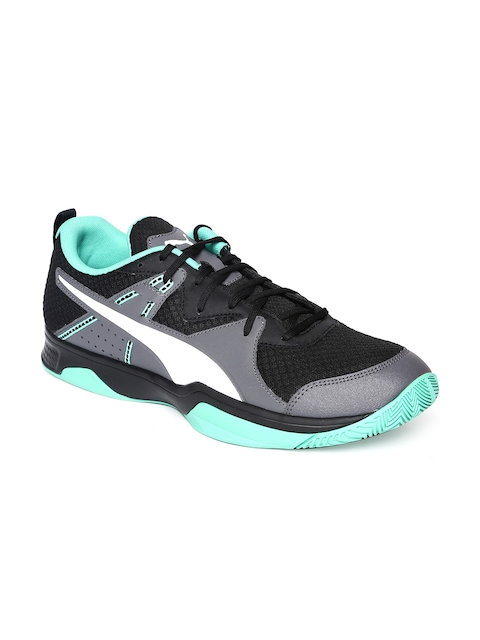 Puma Men Black Stoker.18 Badminton Shoes