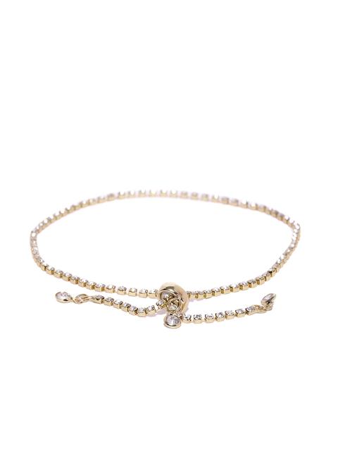 Ayesha Gold-Toned Metal Wraparound Bracelet