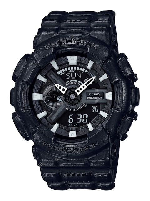 CASIO Men Black Analogue and Digital Watch