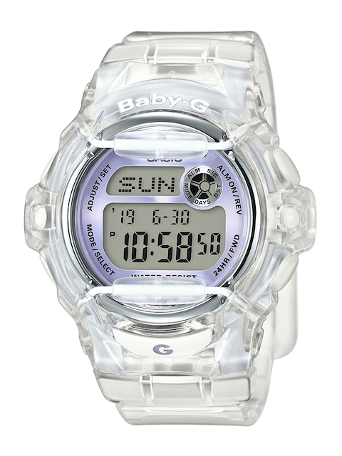 CASIO Women Blue Digital Watch B162