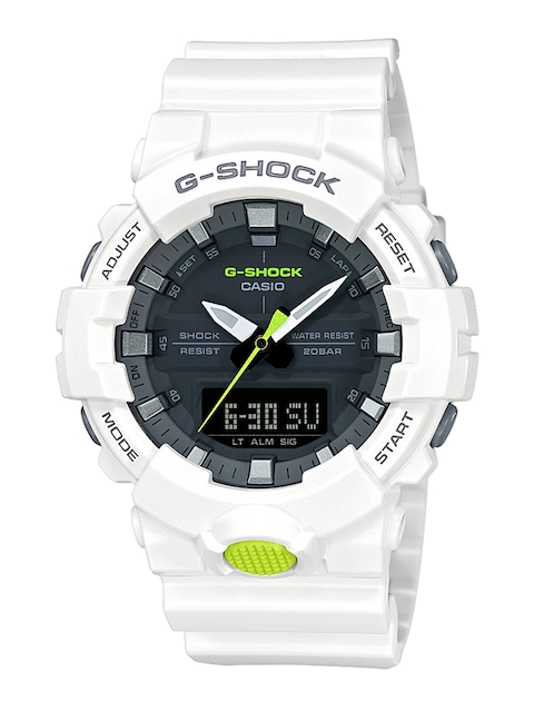 CASIO Men Grey Analogue and Digital Watch