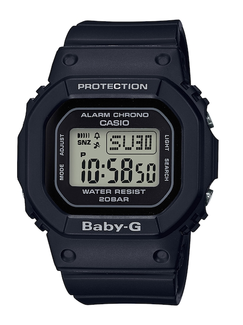 CASIO Women Black Digital Watch B208