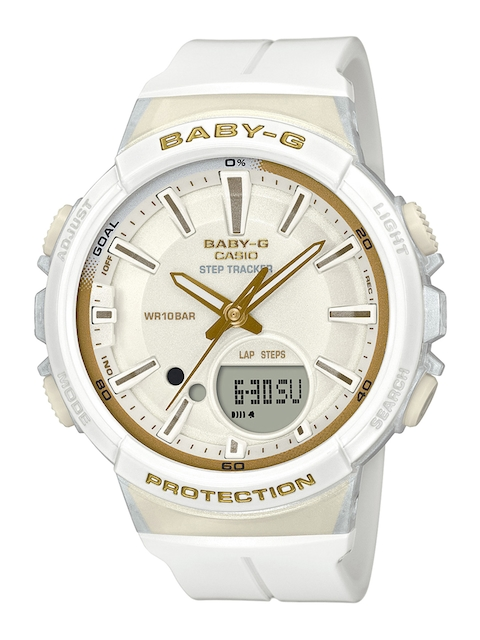 CASIO Women White Analogue and Digital Watch B212