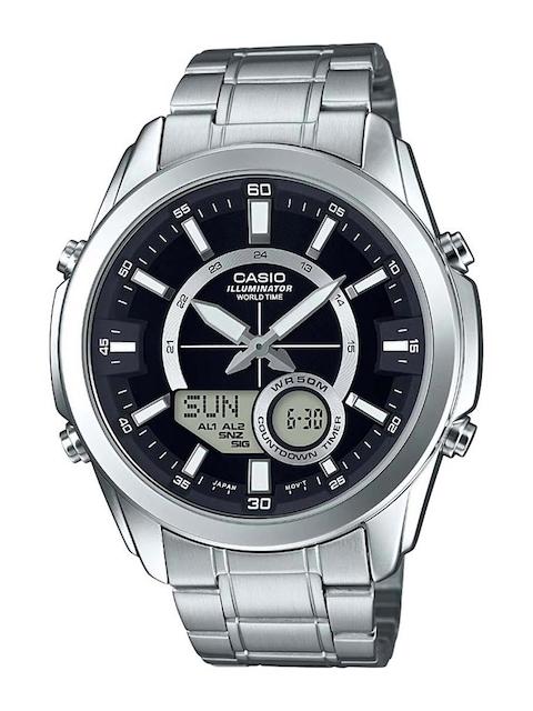 CASIO Men Black Analogue and Digital Watch A1216