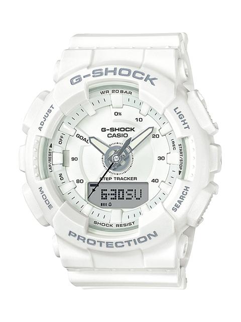CASIO Men White Analogue and Digital Watch