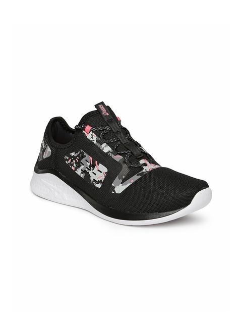 ASICS Women Black fuzeTORA Running Shoes